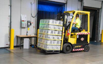 Reciclagem do curso de operador de empilhadeira